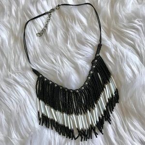 Jewelry - Fringe beaded choker/necklace
